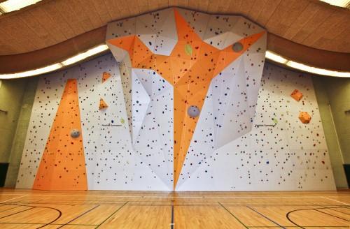 Roskilde Gym klatrevæg